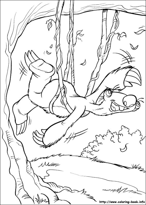 Ice Age Coloring Pictures Ice Age