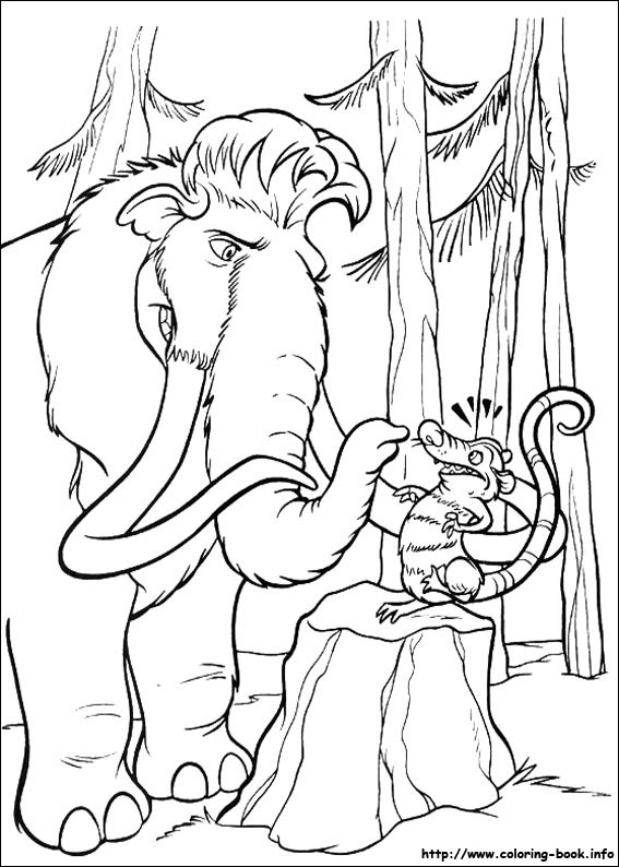 Ice Age Coloring Pictures | ICE AGE